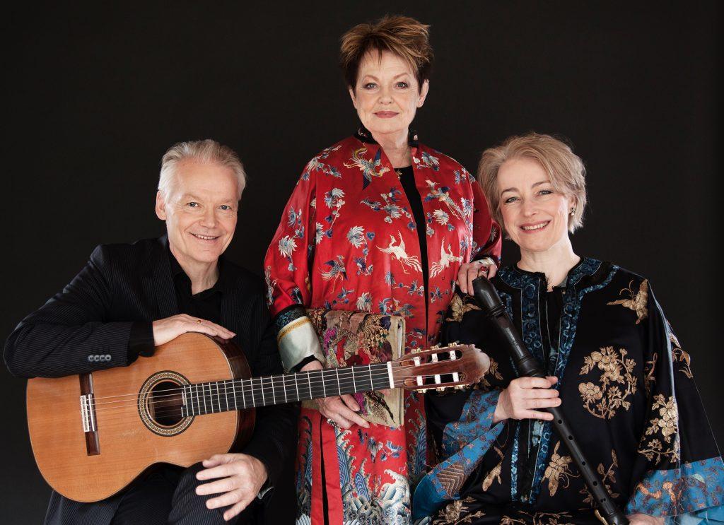 Ghita Nørby, Michala Petri og Lars Hannibal